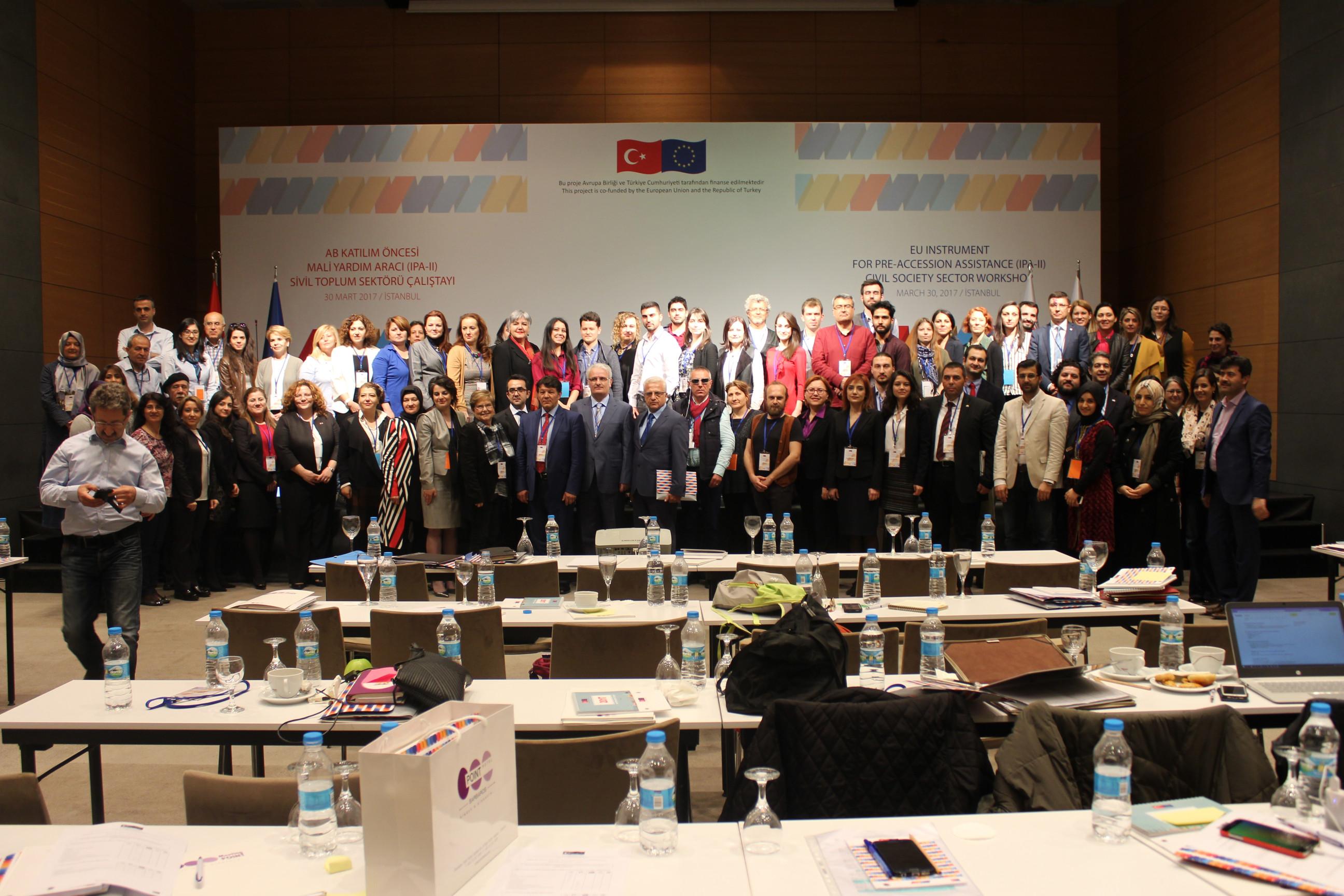 Sivil Toplum Sektörü Çalıştayı, Mart 2017, İstanbul