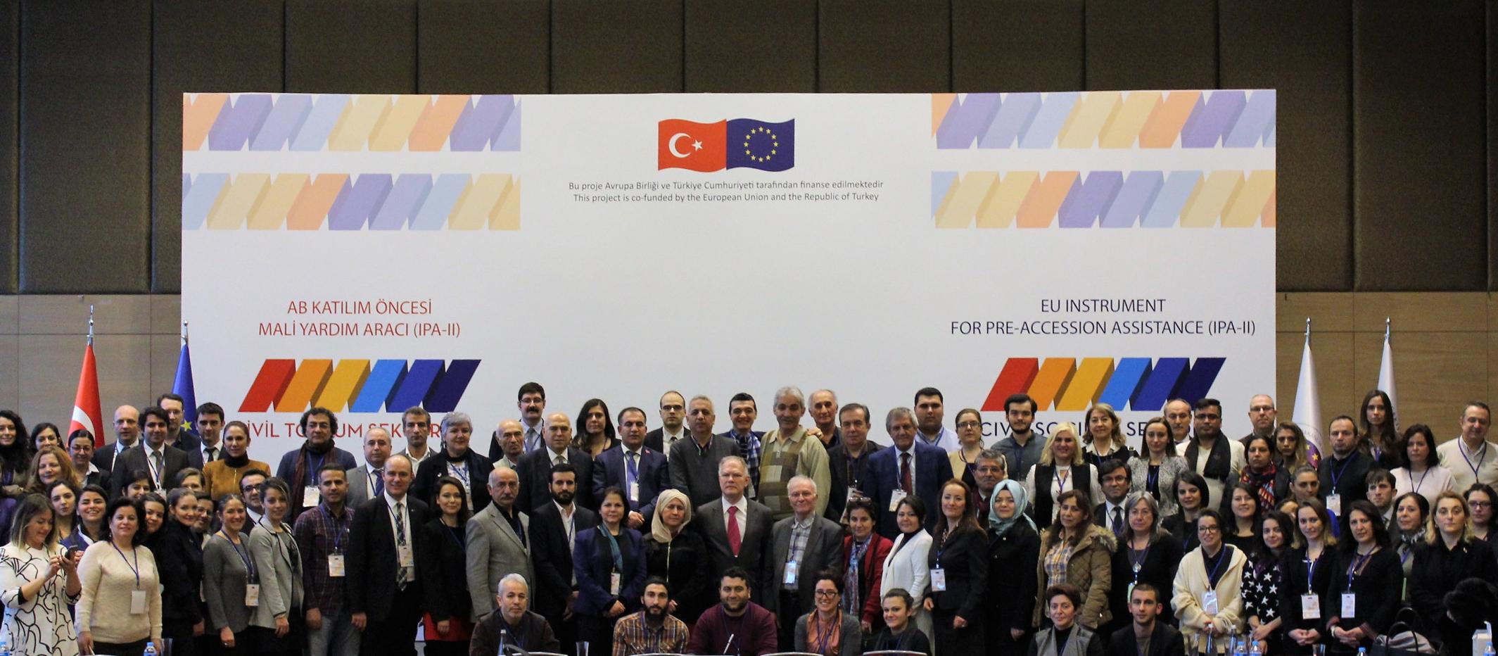 Sivil Toplum Sektörü Çalıştayı, Şubat 2017, Ankara