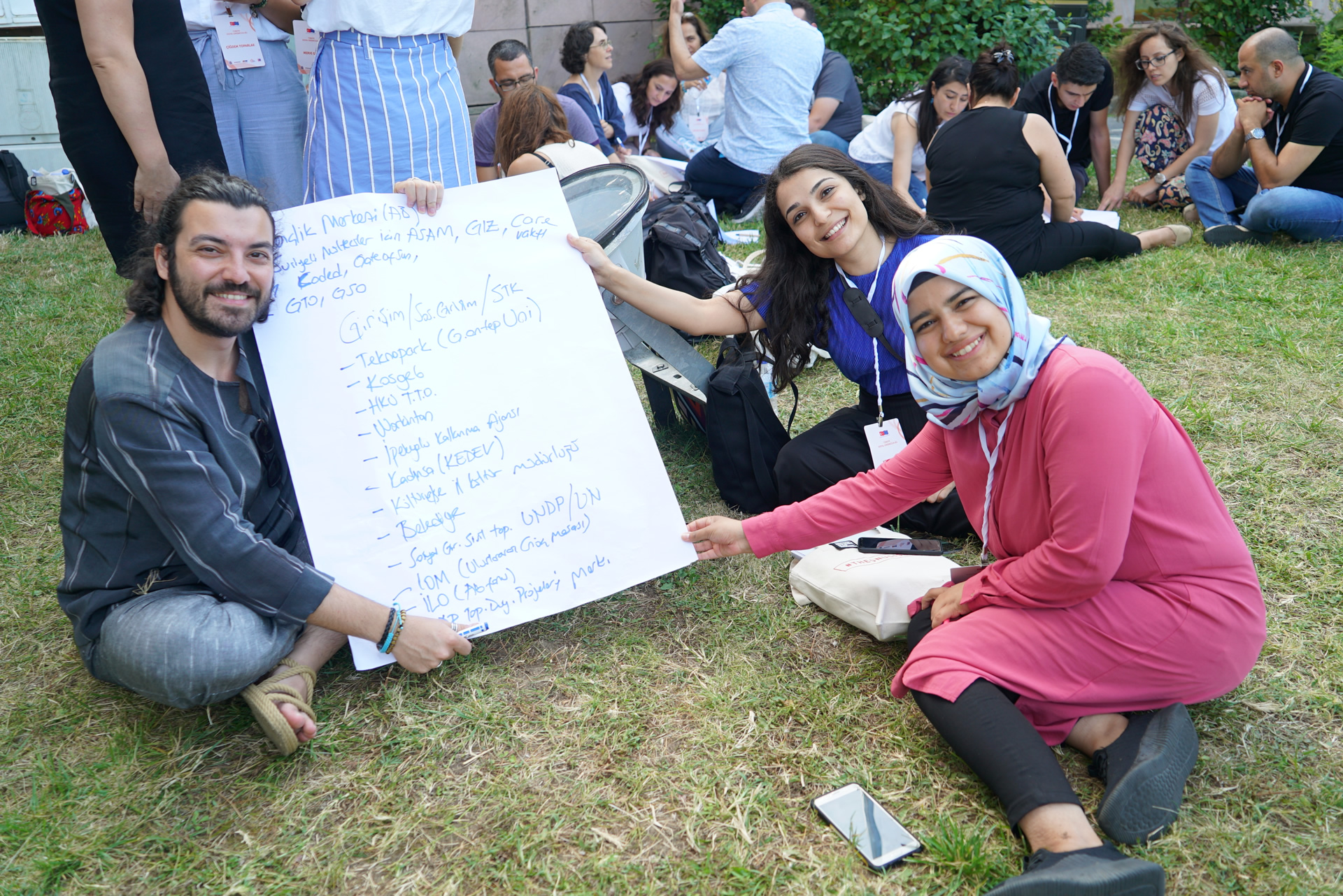 (Turkish) Türkiye Sosyal Girişimcilik Ağı Projesi Eğitici Eğitimlerini Gerçekleştiriyor