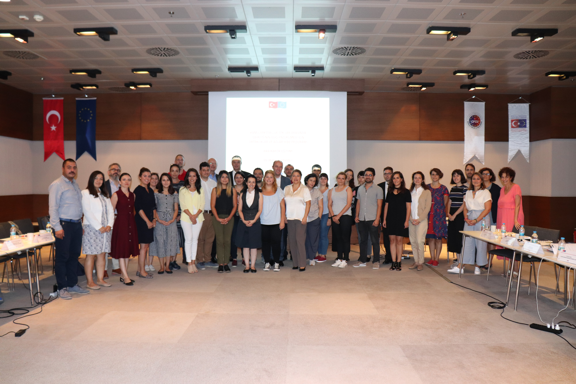 Grant Scheme for Partnerships and Networks Interim Report Training for Strengthening Cooperation Between Public Sector and CSOs was held on 5-6 September in Istanbul.