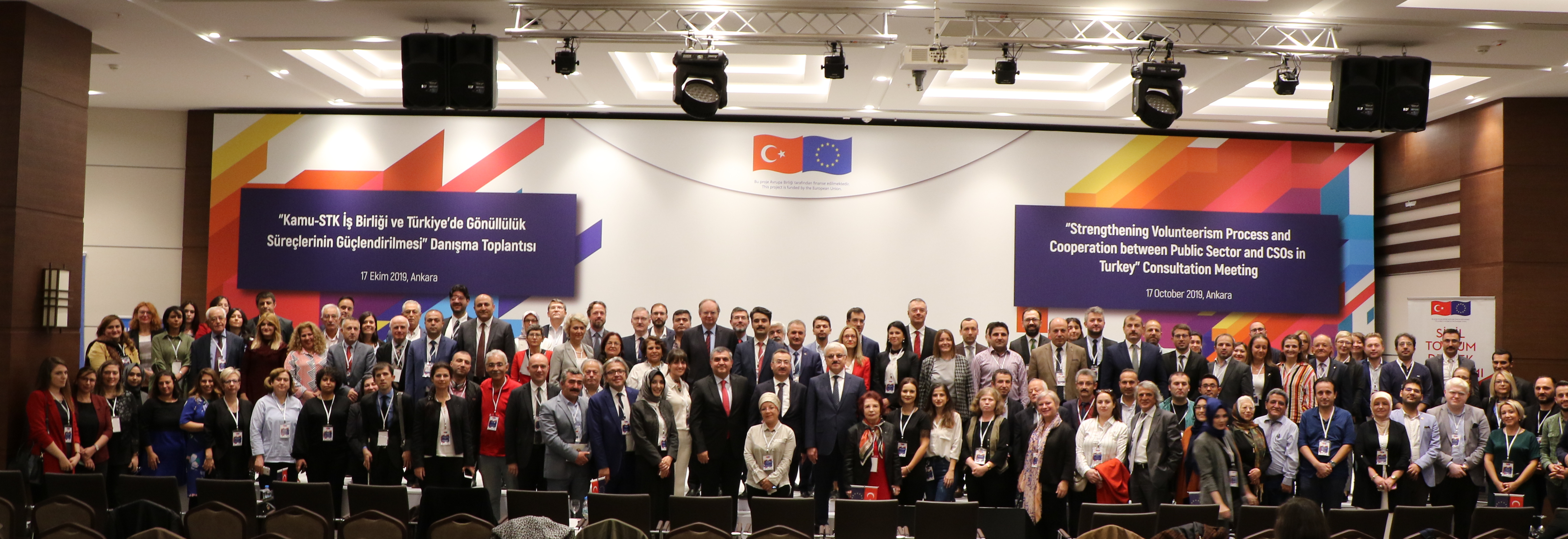 Public Sector and Civil Society Organizations Met in Ankara for Strengthening and Dissemination of Volunteerism in Turkey