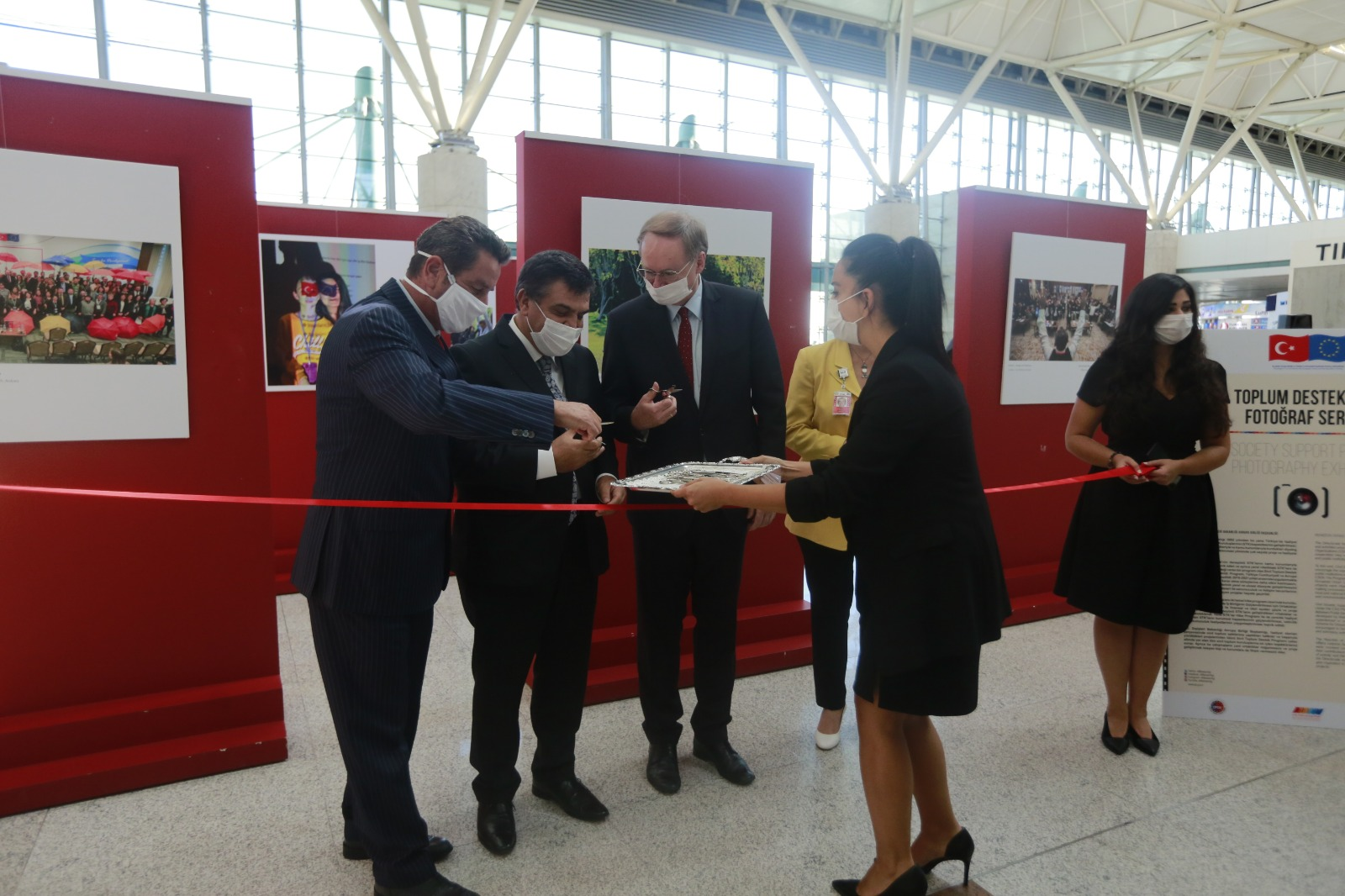 Civil Society Support Programme Photography Exhibition Launched in Ankara